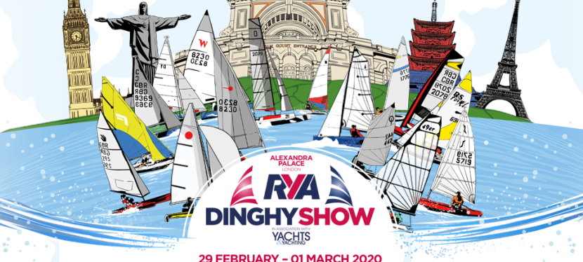 RYA Dinghy Show 29 Feb – 1 Mar 2020